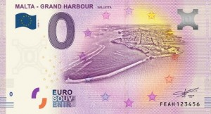 0 Euro - Grand Harbour - Malta - 2019