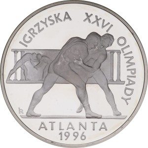Moneta 20 zł Olimpiady - Atlanta 1996