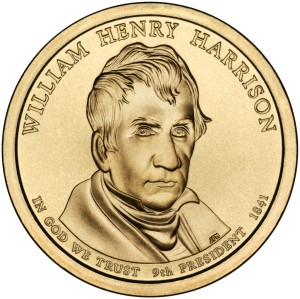 1 Dolar - William Henry Harrison - 2009 rok
