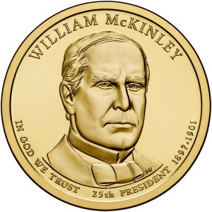 1 Dolar - William McKinley - 2013 rok