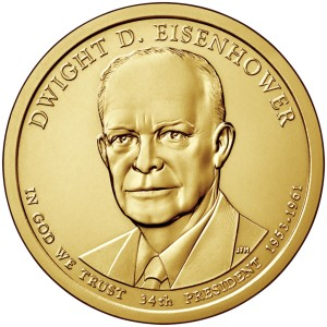 1 Dolar - Dwight D. Eisenhower - 2015 rok
