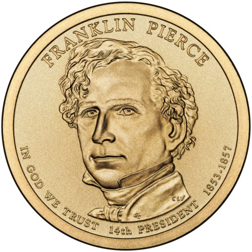 1 Dolar - Franklin Pierce - 2010 rok